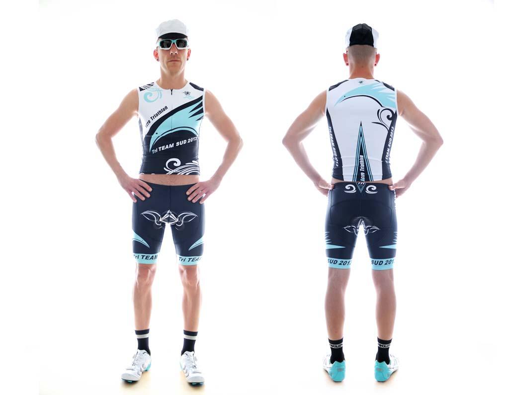 Nouvelles Arrivées eb68c 5de1c Vêtement personnalisé : Maillot Triathlon