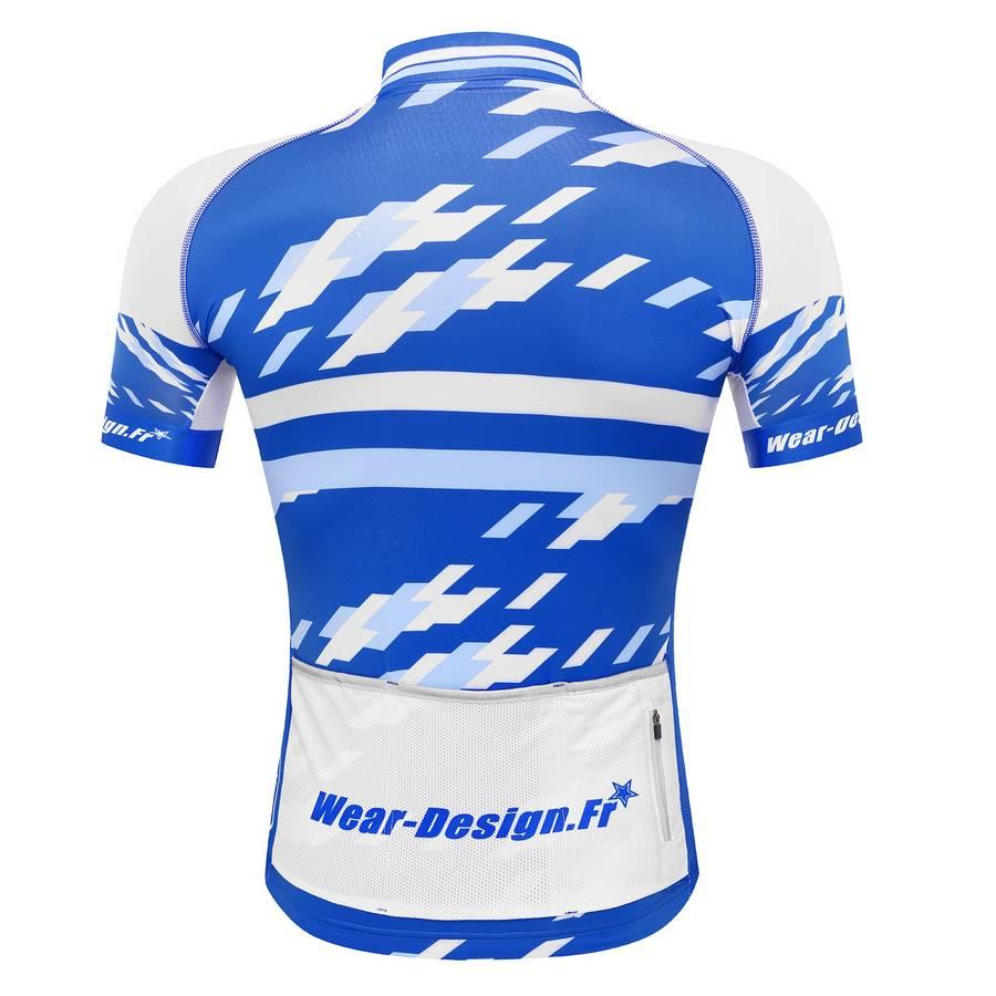82dacc090 ... Maillot vélo Pro-Light Bleu MC