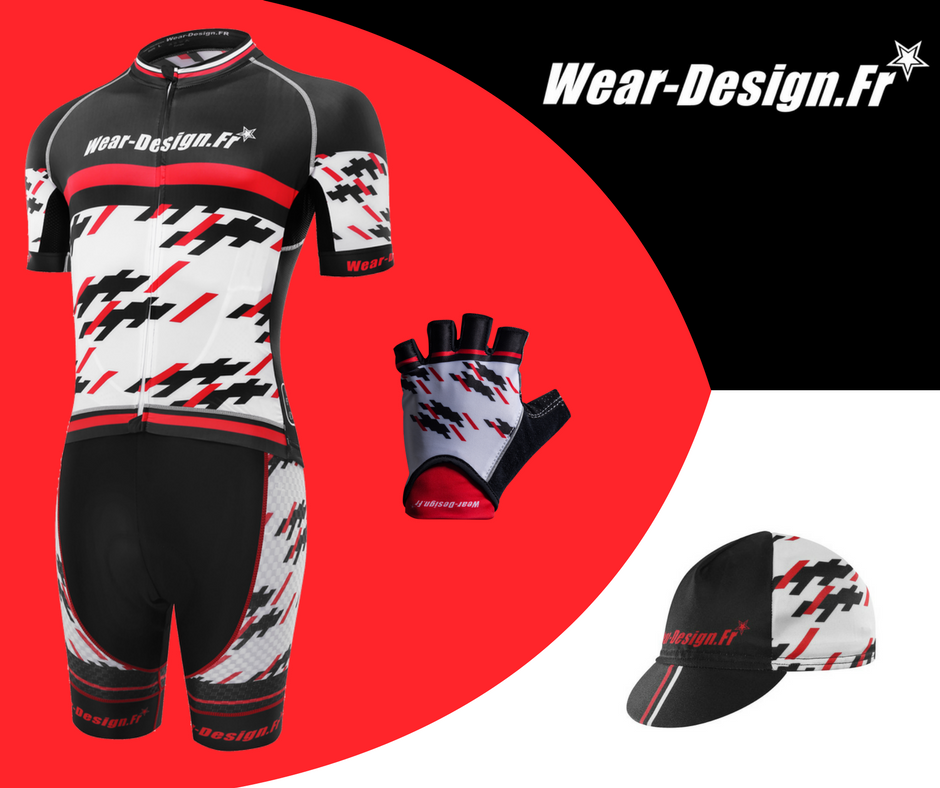 Maillot Vélo Pro Light - Vêtements de cyclisme Wear Design