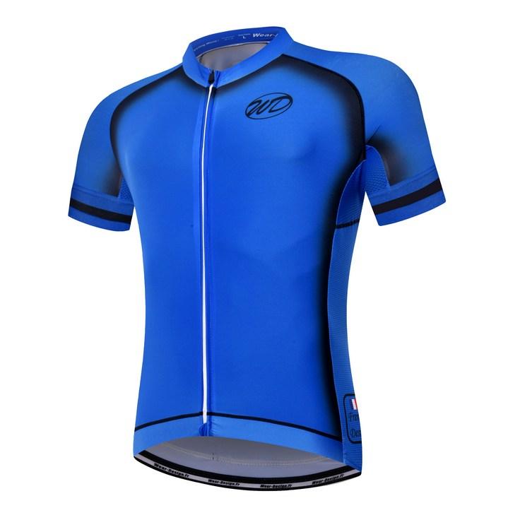 e56d56e9f Promo Maillot vélo ELEGANCE bleu noir ...